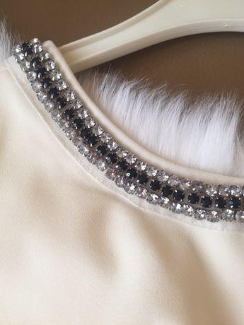Sukienka biała Mini XS