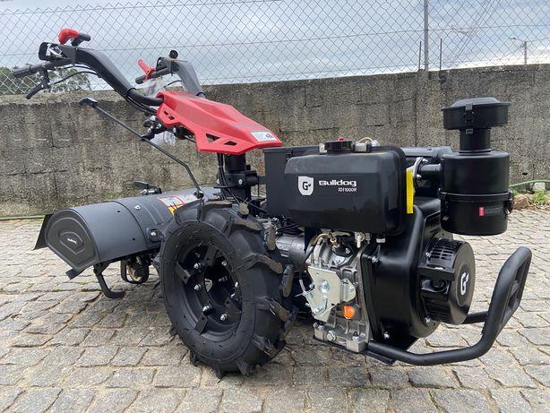 Motocultivador gasoleo 10cv INVERSOR com fresa 80cm arranque eletrico