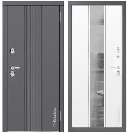 Двери входные бронированные с зеркалом с  доставка и установкой