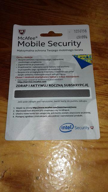 Pakiet ochronny dla urządzeń mobilnych McAfee Mobile Security