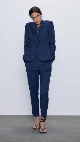 Крутезный пиджак в клетку Zara