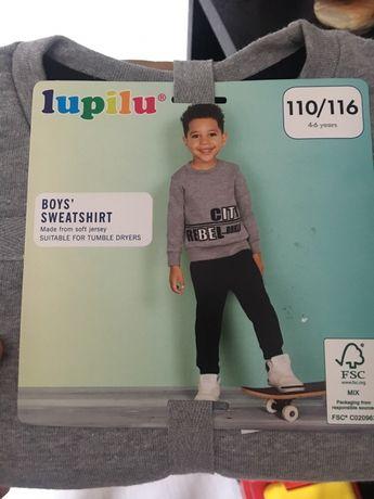 Nowa bluza Lupilu 110/116