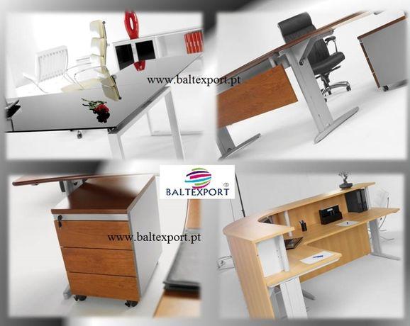 Secretária, Mesas reunião, Mobiliário de escritório, Armários, Cadeira