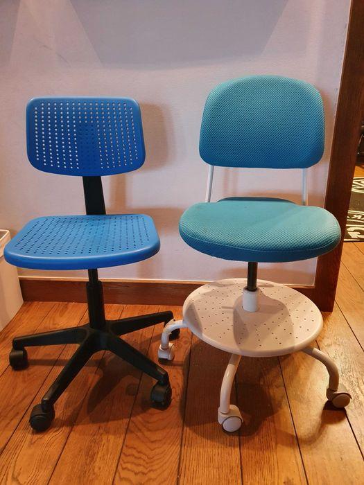 Krzesła dziecięce używane IKEA Warszawa - image 1