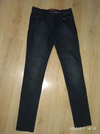 Женские стрейчевые джинсы slim Re&X с  высокой посадкой размер 48