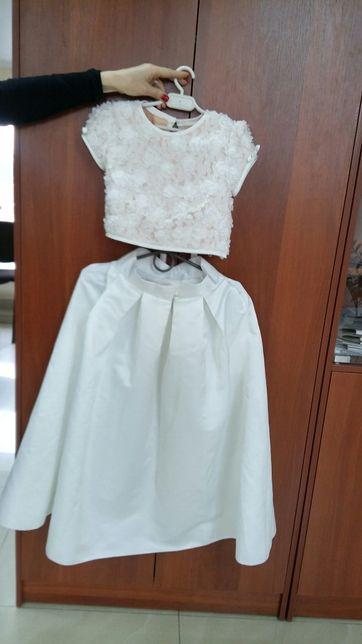 Плаття, платье. Топ і спідничка.