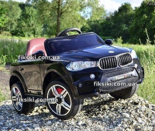 Детский электромобиль 1538 ЧЕРНЫЙ, BMW, Дитячий електромобiль