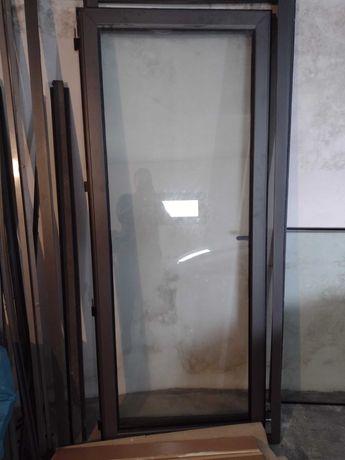 Vendo porta e vidros duplos com respectivos alumínios