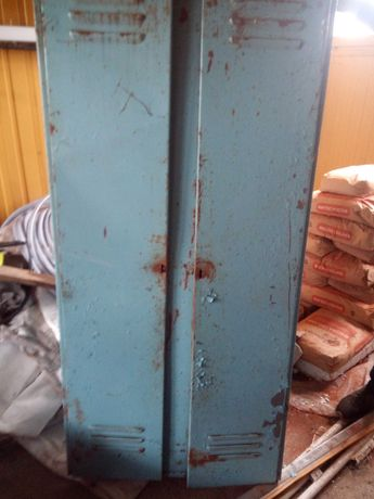 Szafka metalowa 2 drzwiowa BHP