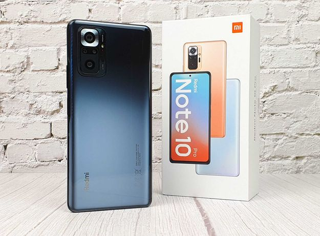 Новый смартфон Xiaomi Redmi Note 10 Pro в Луганске