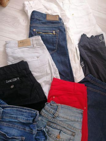 Paka zestaw spodnie 38 M damskie