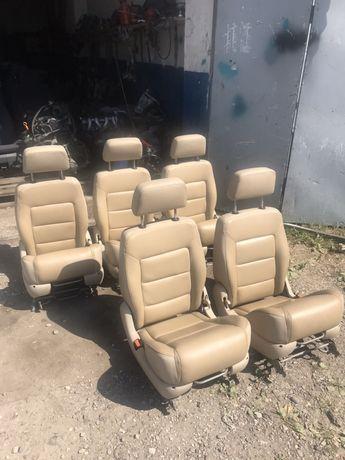 Сідушки сидіння салон Volkswagen Sharan