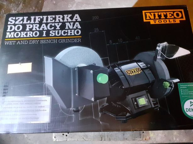 Nowa Szlifierka do pracy na mokro lub sucho firmy Niteo