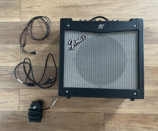 Wzmacniacz gitarowy combo Fender Mustang II 40W + footswitch