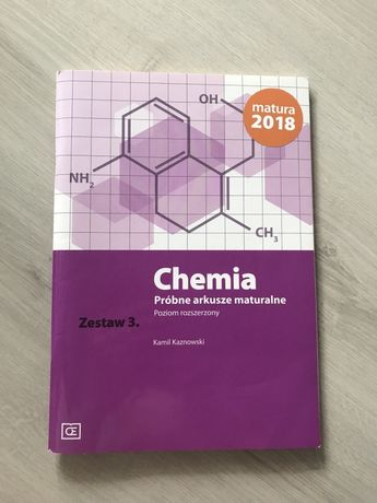 Chemia zadania maturalne