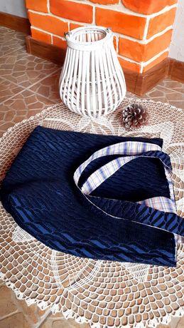 Torba shopperka handmade