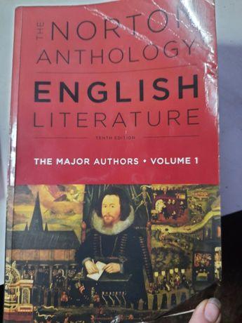 The norton anthology English Literature Tenth Edition