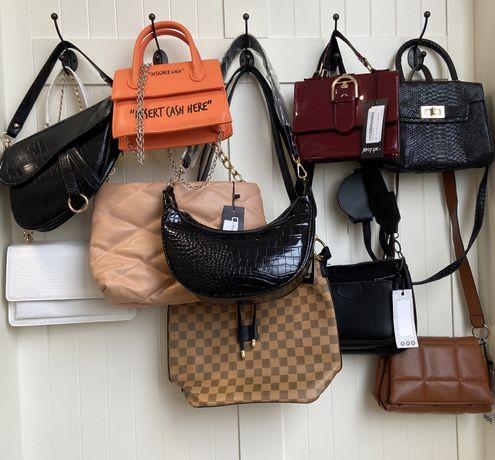 Сумочка жіноча сумка торба женская новая рюкзак велика маленька boohoo