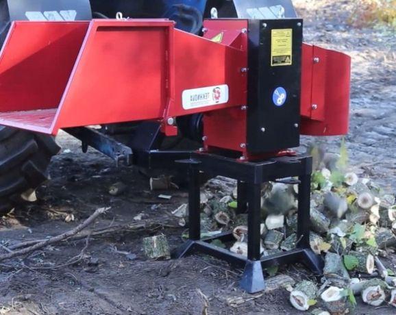 Измельчитель веток, дробилка дерева-130Т