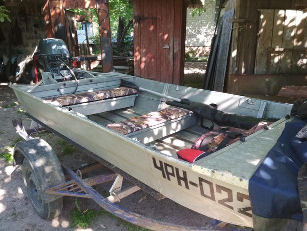 Лодка автобот с мотором yamaha 15