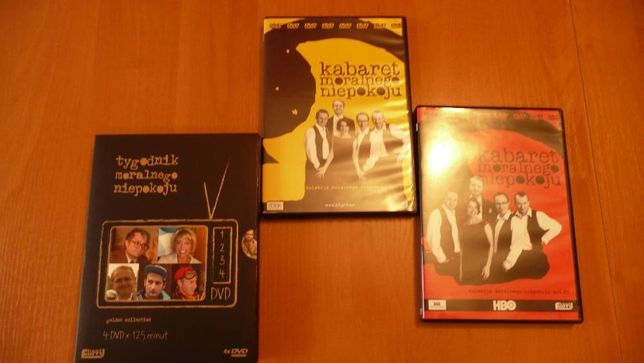 DVD Kabaret Moralnego Niepokoju Ani Mru Mru Neonówka Grupa Mocarta