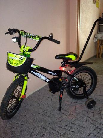 Детский велосипед HAMMER б/у.