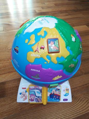 Fisher-Price edukacyjny globus odkrywcy
