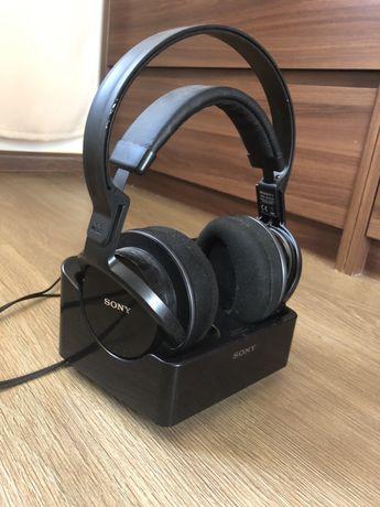 Słuchawki sony czarne bezprzewodowe
