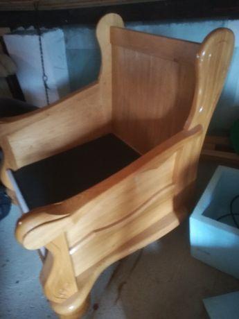 Sprzedam fotel nowy dąb