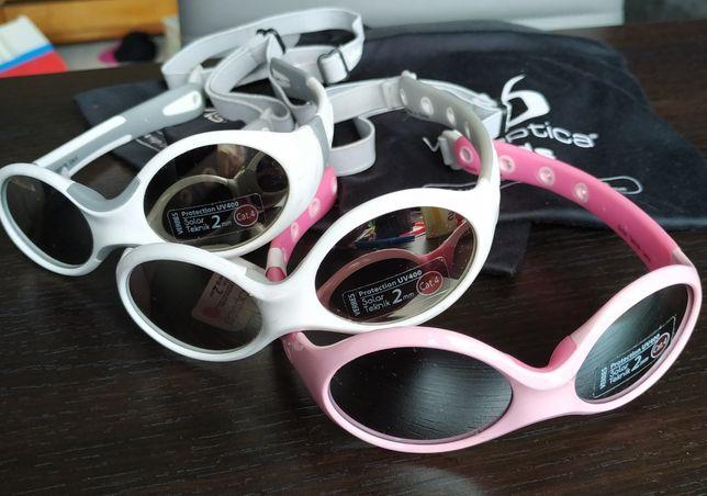 Okularki dla maluszka visioptica kids
