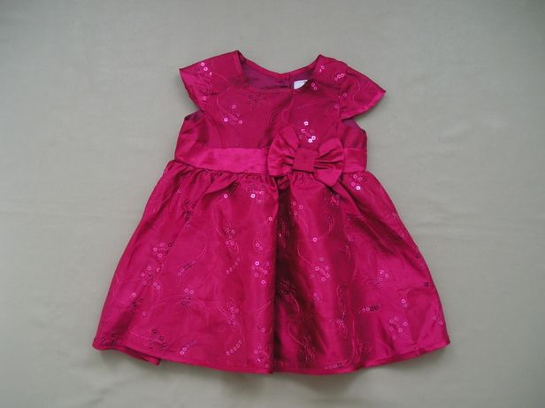 """Платье """"F&F""""с пайетками на дев. 1-2 года"""