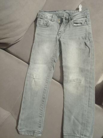 Spodnie jeansy zara