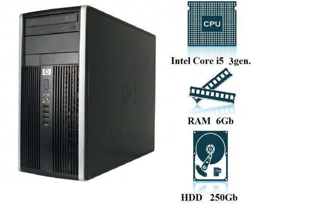 Компьютер, системный блок, ПК, Core I5, 3470, 4 ядра, 6 ОЗУ, 250 HDD