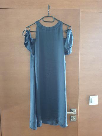 Sukienka granatowa, nowa Reserved r.40