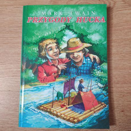 """Książka """"Przygody Hucka"""" Mark Twain"""