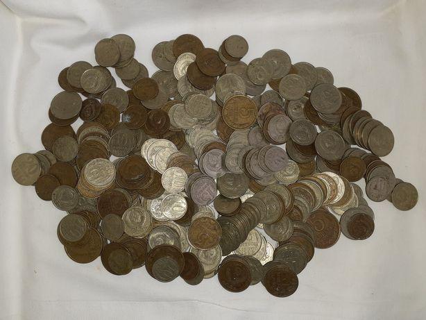 Монеты мелочь СССР