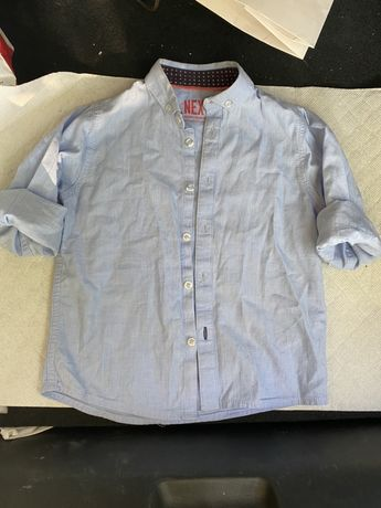рубашка next 4-5 лет рост 110