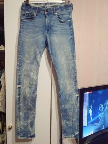 Джинсы skinny H&M 11 - 12 лет