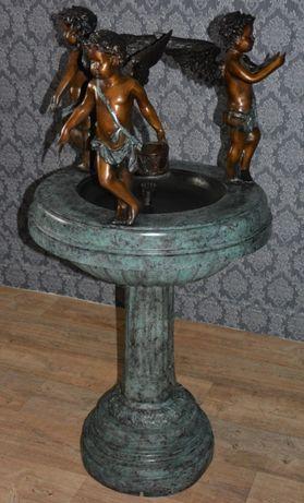 Fonte com anjos em bronze ( ÚNICA)