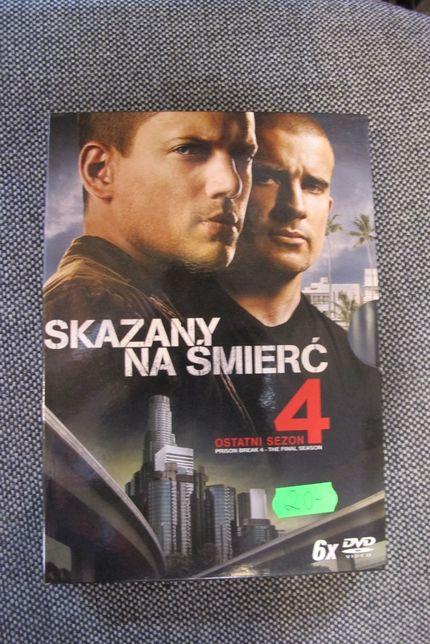 Skazany na śmierć DVD sezon 4