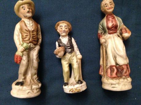 Фарфоровые фигурки стариков бисквит винтаж Европа ручная работа