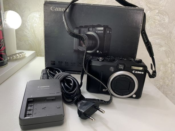 Продам фотоаппарат Canon Power Shot G7
