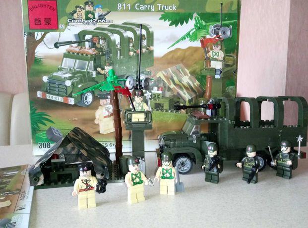 Конструктор Combat Zones 811, военные, лего