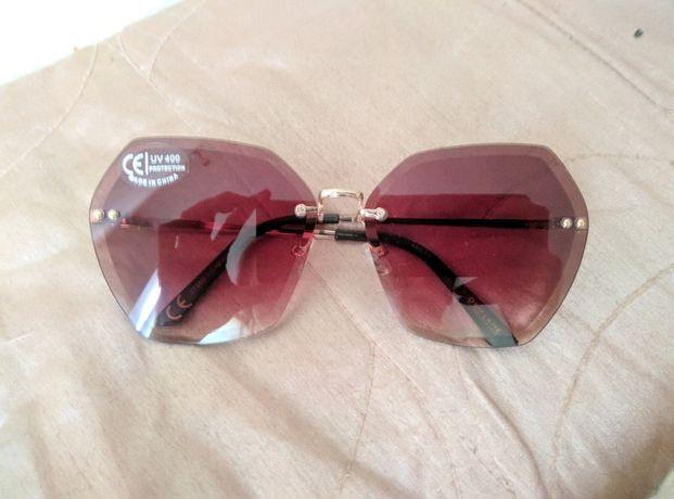 Brązowo - czarne, damskie okulary przeciwsłoneczne Oriflame