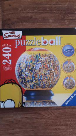 3D Puzzle Ball The Simpsons 240 elementów
