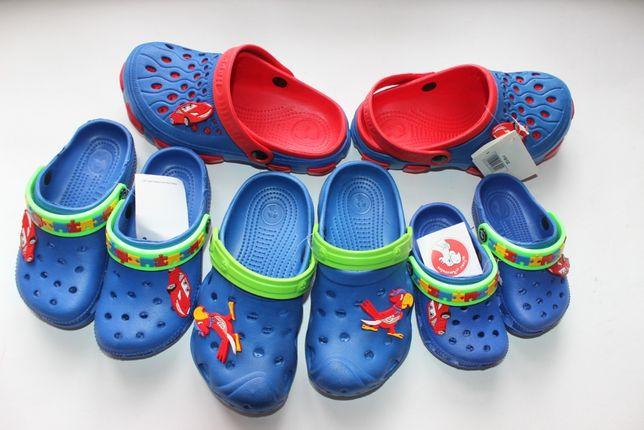 Детские кроксы на мальчика (летняя обувь, сабо)