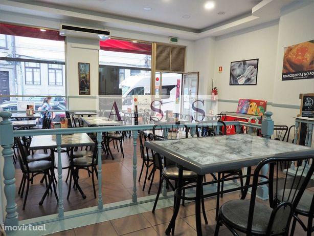 café snack próximo centro do Porto