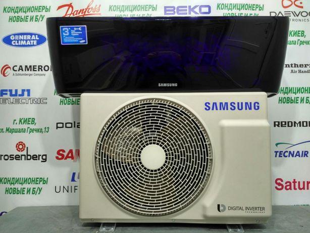 Кондиционер инвертор дизайнерский Samsung AQV12KBBX новый до 35 м2