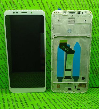 ОРИГІНАЛ Модуль ( дисплей + сенсор) Xiaomi Redmi 5 Plus ( З рамкою )