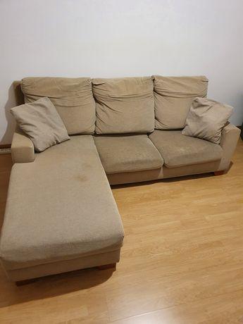 Sofá com chaise-longue